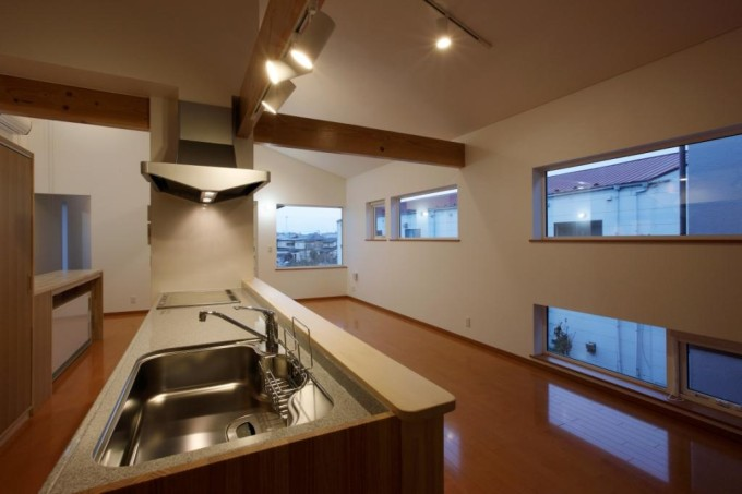 秋田の長屋キッチン