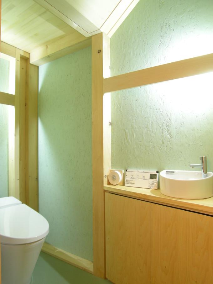 ペントハウスの家2トイレ