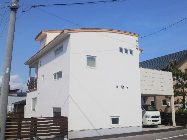 ペントハウスの家